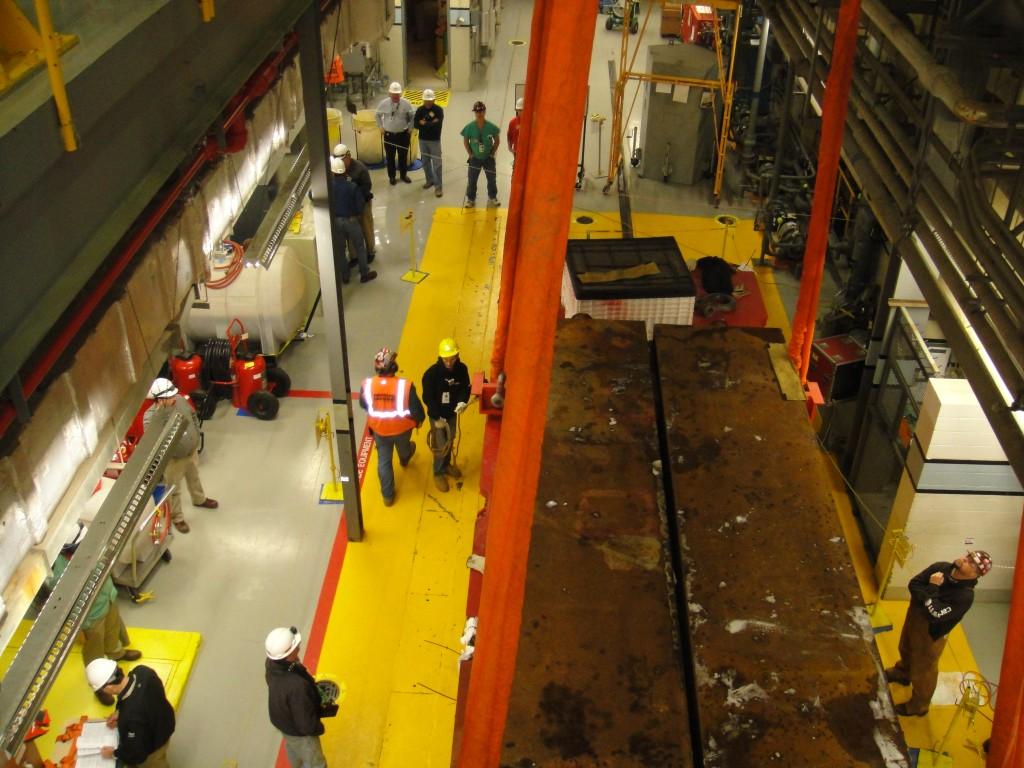 Crane Load Test 1