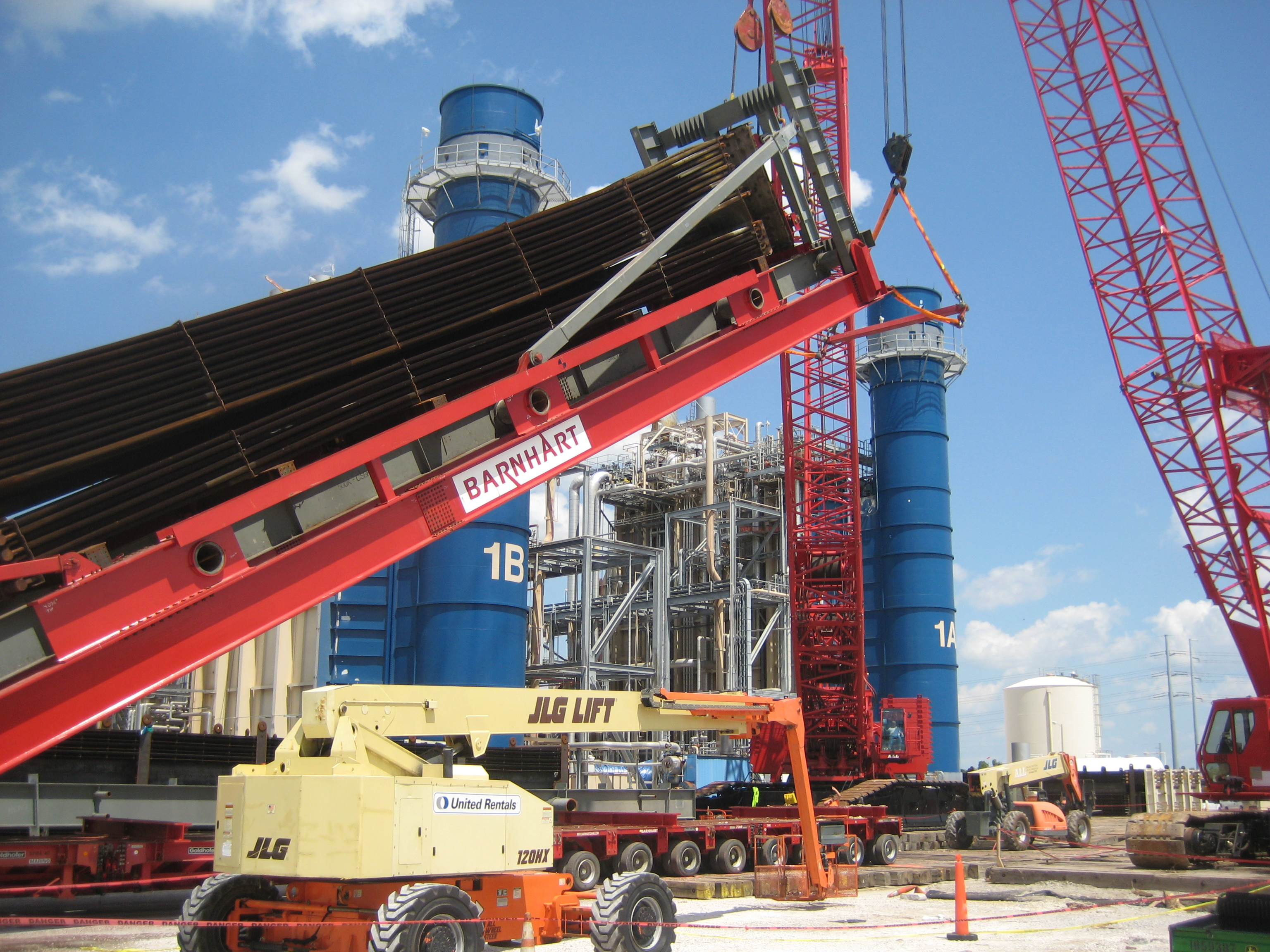 Engineering Modifications Simplify a Florida HRSG Removal and