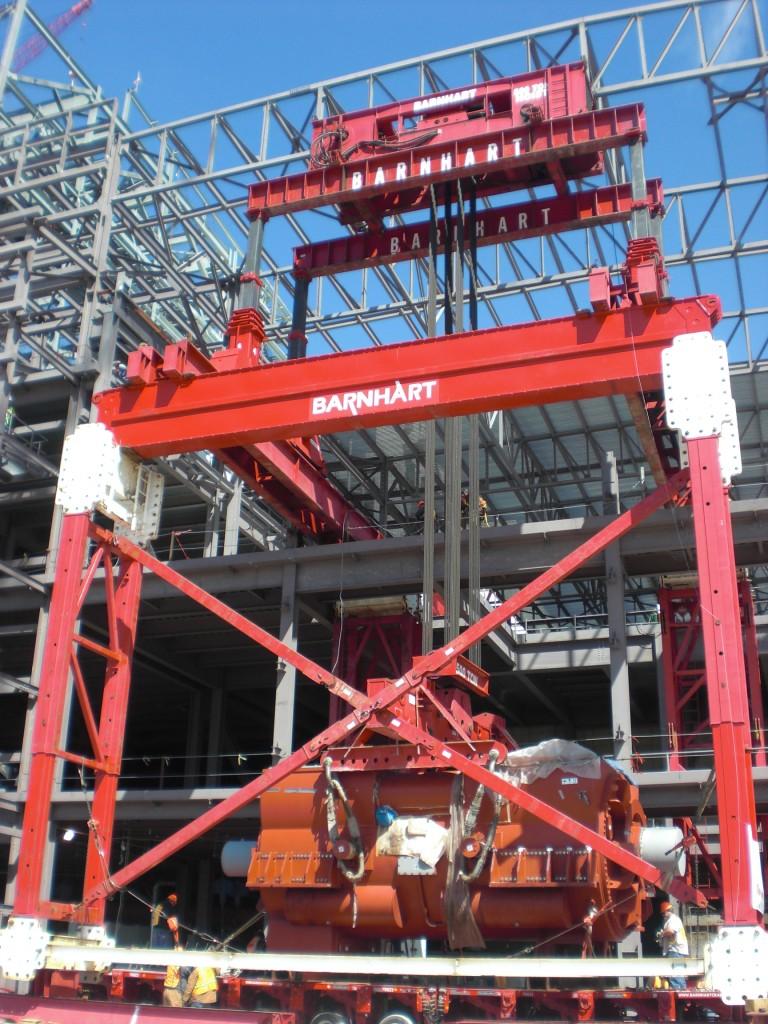 modular lift tower 7