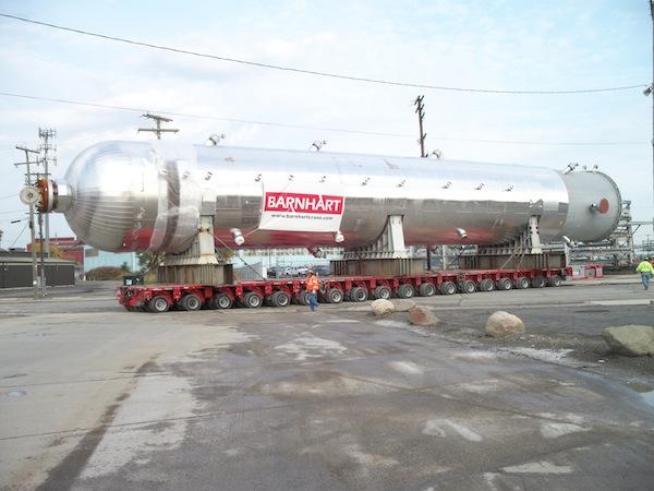 refinery equipment heavy transport 1