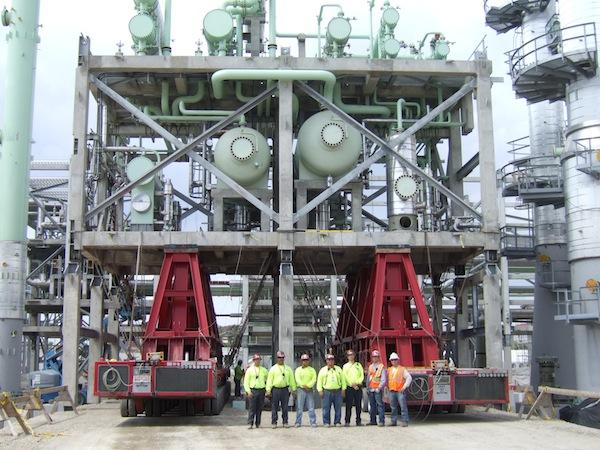 refinery equipment heavy transport 3