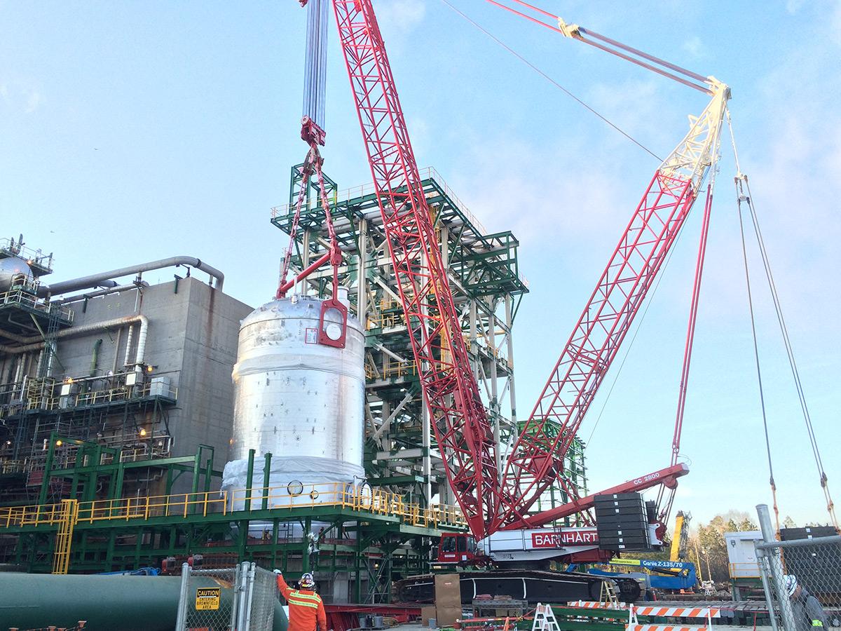 Cc2800 660 Tons Barnhart Crane Amp Rigging