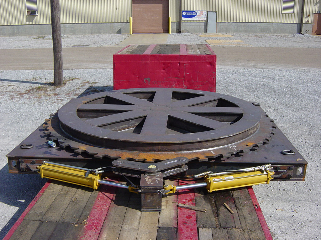 Hydraulic Turntable Barnhart Crane amp Rigging