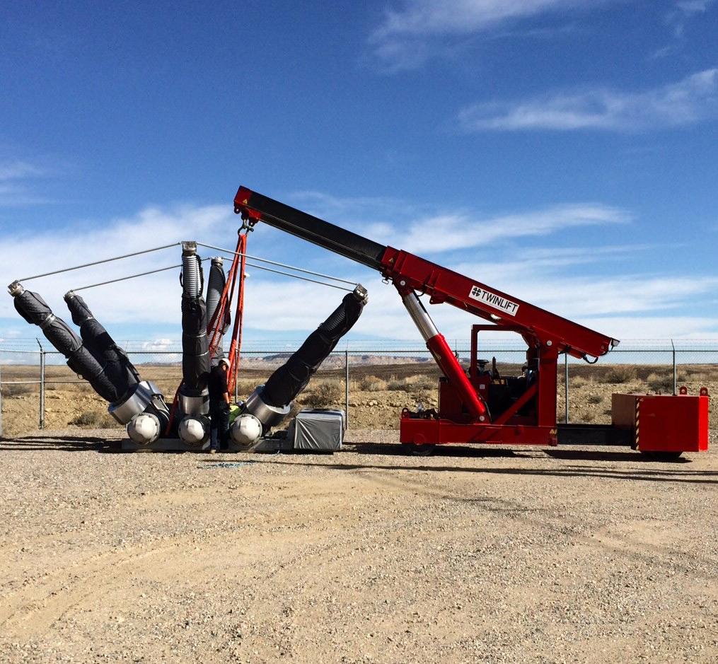 twinlift   barnhart crane  u0026 rigging